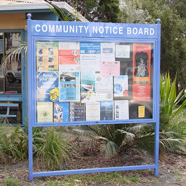 Stands and Sign Frames for Notice Boards and Poster Cases