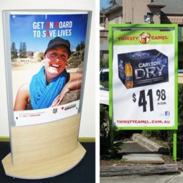 Sign-Frames-and-mall posters-Stands