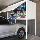 Over car storage locker
