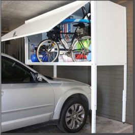 Over Bonnet and Garage Storage Lockers