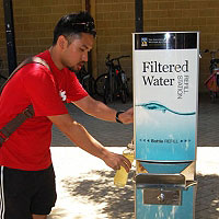 Water Refill Stations - say not to plastic