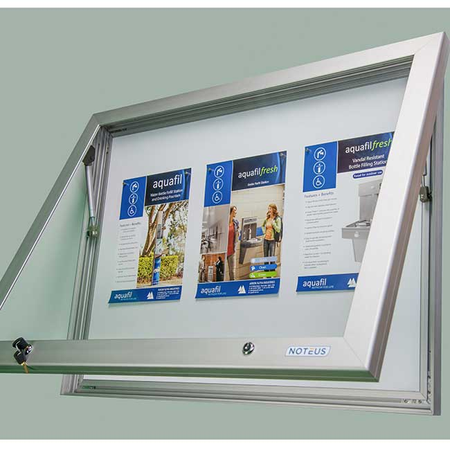community outdoor lockable notice boards for sale