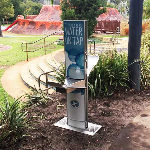 aquafil Alpine Double Water Refill Station and Drinking Fountain